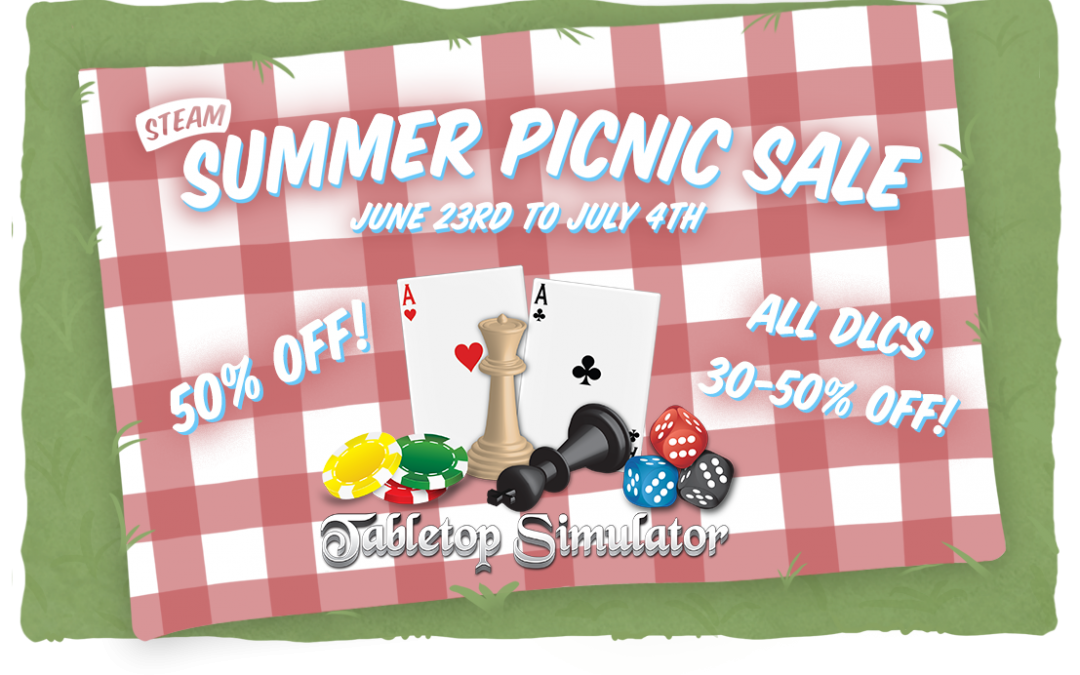 06/23/2016 – Steam Summer Sale is Here! All DLCs on Sale!